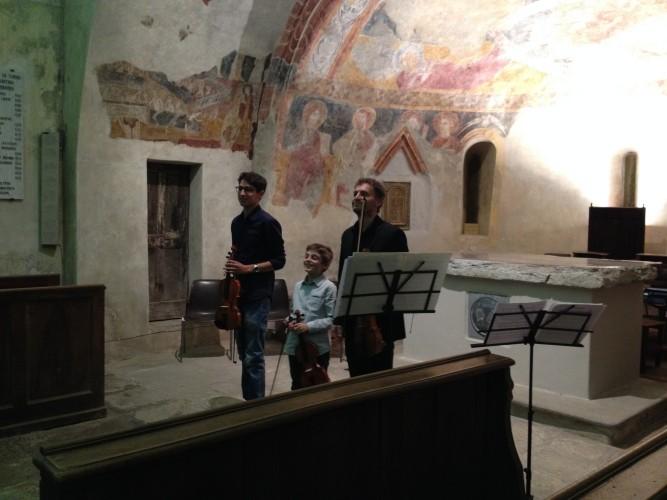 Foto del concerto tenuto dal M° Massimo Bairo