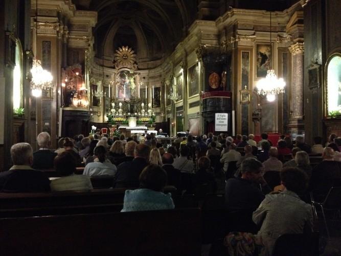 Foto del concerto tenuto dal M° Marco Ambrosio