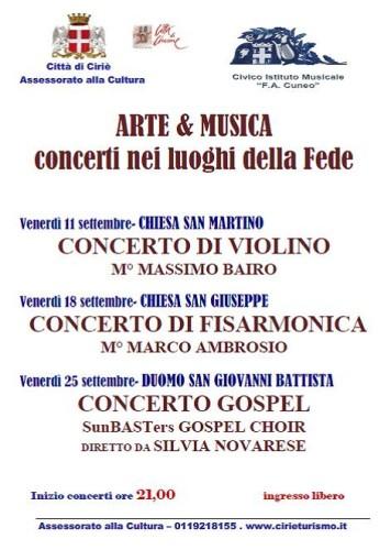 """""""Arte & Musica Concerti nei luoghi della Fede"""""""